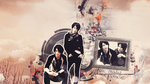 Saga and Tora Wallpaper by ParanoiaGod69