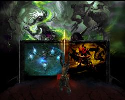 Diablo 3 Witchdoctor Selection by tdawgxgib