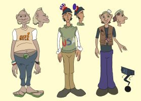 Character Designs V2 by systemcat