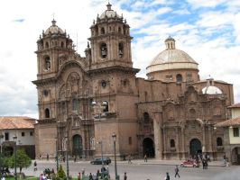Cusco Main Square by Father-Alexander