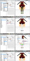 MMD - UV Mapping Tutorial by teatime-plasmid
