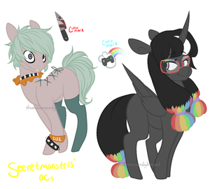 Contest Entry Pony Designs by thatonenerdybroad