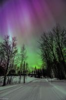 Lights upon Finland by Ikilaama