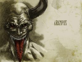 #31DaysOfMonsters Day 20: Krampus by franciscomoxi