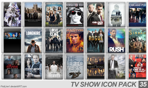 TV Show Icon Pack 35 by FirstLine1