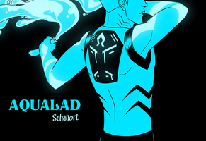 Aqualad by AnArtistCalledRed