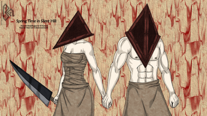 Love in Silent hill by Blackmoonrose13