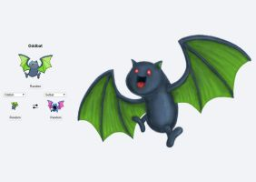 Pokemon Fusion - Oddbat by A-Pancake