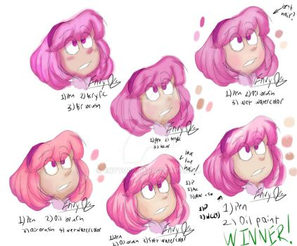 LazyTown - Stephanie Color Tests by EnvyQ00