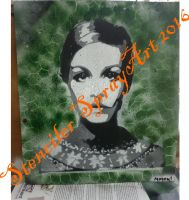 Twiggy Retro by ModokSprayArt