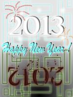 .::welcome2013 bye2012::. by IMstranger