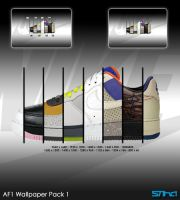 Nike AF1 Wallpaper Pack by stiha-design