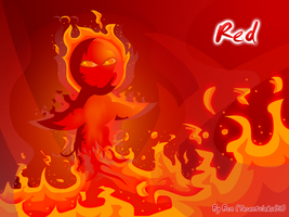 Red as Fire by Tarantulakid96