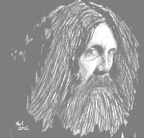 Alan Moore by Kmadden2004