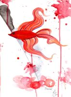 Dexter: The Serial Japanese Fighting Fish by xnivalisx