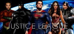 Justice League - Poster B (Fan-Made) by Zedkate