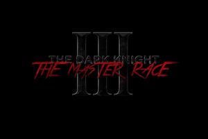 THE DARK KNIGHT III: THE MASTER RACE - LOGO by MrSteiners