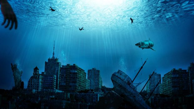 Underwater City Wallpaper HD by Samuels-Graphics