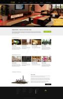 Home decorating website corporate website by lidingling