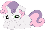 Sweetie Belle : Am sorry by Kooner-cz