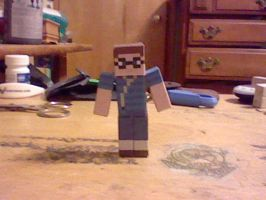 my minecraft papercraft by superkirby1111