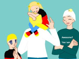 CSF and APH Unsuspected hug by ABtheButterfly
