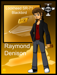 Mechanid World: Raymond Denison by Aileen-Rose