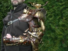 Steampunk Arm Finished1 by Skinz-N-Hydez
