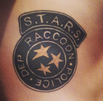 S.T.A.R.S Badge Tattoo. by C-Gray