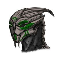 Mass Effect: Dactus by Guyver89