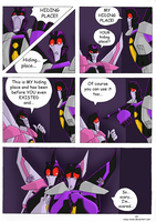 TFA - Scaredy bot is scary by Rosey-Raven