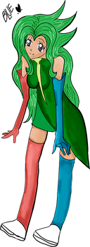 Request 1_Green Lady by blue-sky-girl