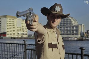 The Walking Dead - Rick Grimes: Sherriff's Deputy by Leadmill