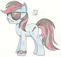 Ratchet in colored pencil by Ratchet-Wrench