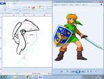 [WIP]Chibi ALTTP link by Ask-Tabitha-Cartman