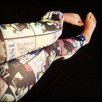 Super Rad Footless tights by iluvsparkles