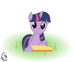 Reading Twilight by TheTidbit
