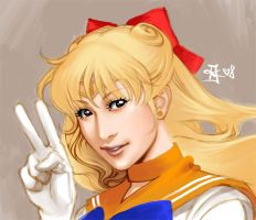 Sailor Venus by HyperLaceAlchemists