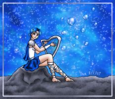 Medieval Sailor Mercury by Kittensoft