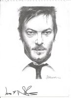 Daryl Dixon (Signed version) by jesscoleman94