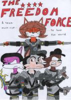 The Freedom Force Poster by TheFalconFighter