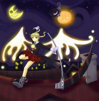Soul Eater - Spread Your Wings by spicy-diamond