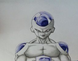 Freezer - Dragonball Z by Pandaroszeogon