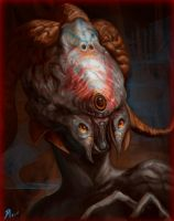 Horny Pale Alien by Davesrightmind