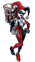 Harley Quinn by twistedcortex