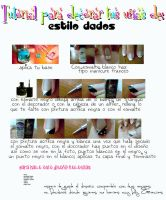 Nail art: Estilo dados by DivasChampionship