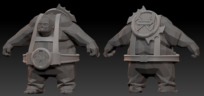Pudge set for hOlyhexOr WIP 1 by nullf