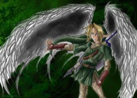 Winged Link by HyruleMaster