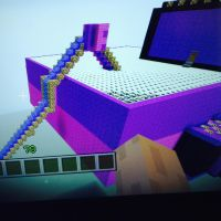 Minecraft back of my house by rosetyeler2334