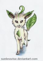 Leafeon by SunlessRise